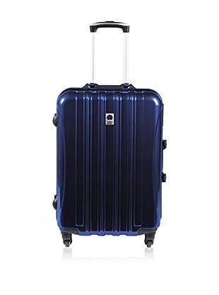 VISA DELSEY Trolley rígido New Aero Azul 65 cm