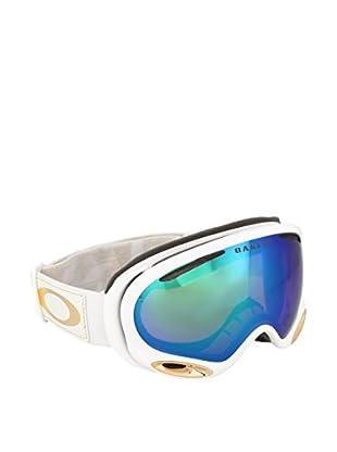 Oakley Skibrille 7044 704409 weiß/goldfarben