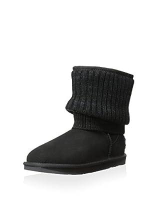 Australia Luxe Collective Womens Fame Short Short Sheepskin Boot (Black)
