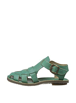 Fly London Sandalias Bow Gladiator (Verde)