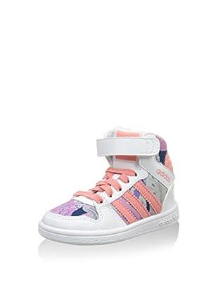 ADIDAS Hightop Sneaker Pro Play 2 Cf I weiß/lachs EU 23