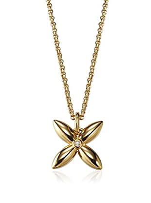 Esprit Collana Thriving Flora Gold