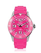 Colori Cool Steel Analog Pink Dial Women's watch - 5-COL180