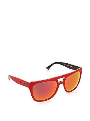 Dolce & Gabbana Gafas de Sol DG4255 (56 mm) Rojo / Amarillo