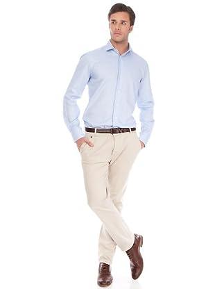 Arrow Camisa Cluet Slim (Azul)