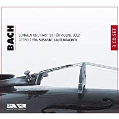 輸入盤CD S.ラウテンバッハー独奏 バッハ:無伴奏ヴァイオリン・ソナタ&パルティータの商品写真