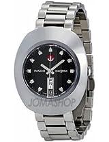 Rado Original Diastar Black Dial Diamond Stainless Steel Mens Watch R12408614