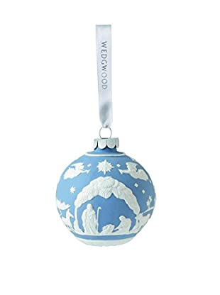Wedgwood Nativity Ornament, Blue
