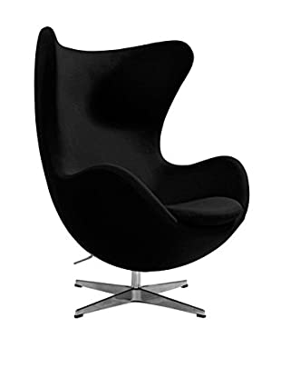 Euro Home Collection Columbia Chair, Black