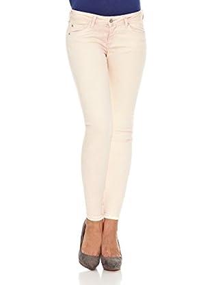 Pepe Jeans London Pantalón Cher (Rosa Claro)