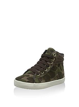 Geox Hightop Sneaker Jr Kiwi Girl C