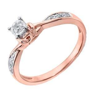 American Diamond Ring By Kiara
