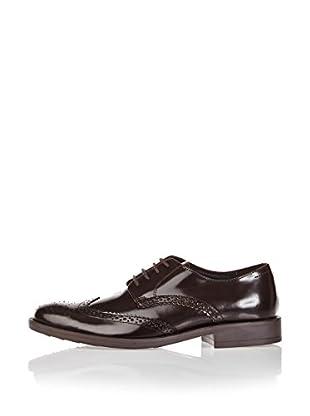 Divarese Zapatos Derby Jeffrey (Marrón Oscuro)