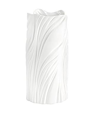 Carnegie Large Matte White Vase
