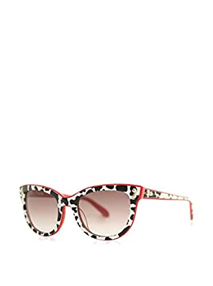 Moschino Gafas de Sol 723S-06 (52 mm) Negro / Rojo