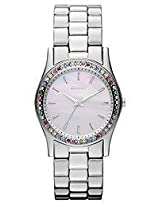 Dkny Analog Mother of Pearl Dial Women's Watch - NY8723