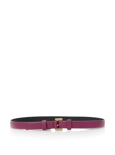 Meredith Wendell Women's 3/4-Inch Leather Belt (Fuchsia)