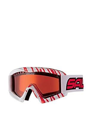 salice occhiali Maschera Da Sci 897Davd Bianco/Rosso/Arancione