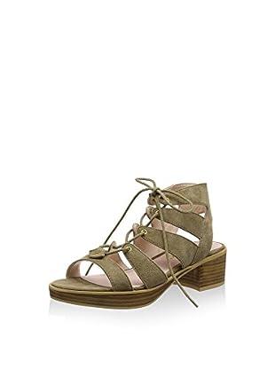 Bronx Zapatos peep toe