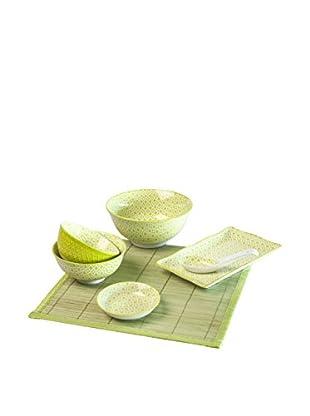 Set, Sushi Ausstattung grün