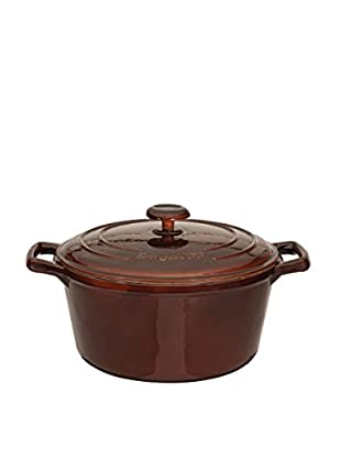 BergHOFF Neo 2.5-Qt. Cast Iron Round Covered Casserole, Brown