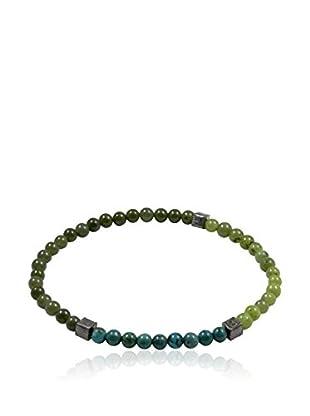 Baldessarini Armband  rhodiniertes Silber 925/grau/blau