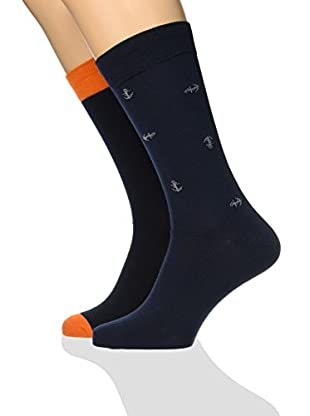 Dockers 2tlg. Set Socken Seasonal Anchors