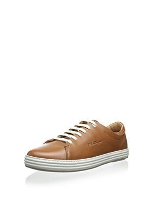 Salvatore Ferragamo Men's Riviera Sneaker (Cuoio)