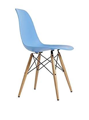 Silla Baby Wooden Color Edition Azul Claro