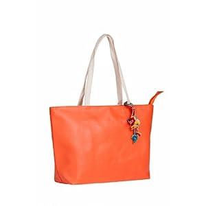 Ananta Orange Women Handbag 11507