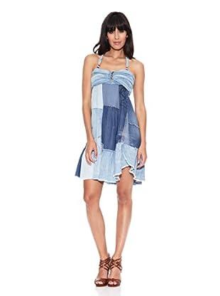 Desigual Vestido Similcris (Azul Denim)