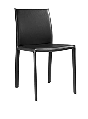 LO+DEMODA Stuhl 2er Set Bubu Chair schwarz
