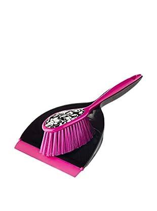 VIGAR Cepillo De Mano 2 Piezas Pink Rococco Negro / Rosa
