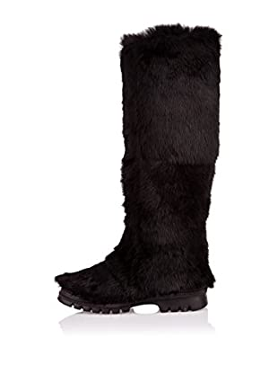 Buffalo London Botas Altas Uzeil (Negro)
