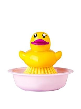 VIGAR Kit de Limpieza 3 Piezas Ducks Amarillo / Magenta