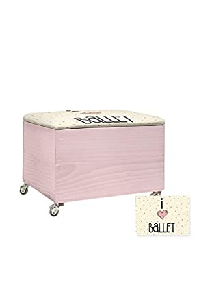 Little Nice Things Hocker mit Stauraum I Love Ballet