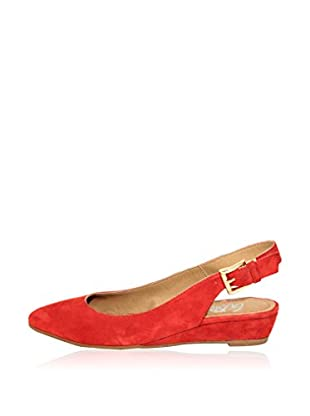 Gusto Sling Pumps Lime