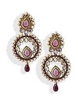Glamorous Pearl Dangler Earrings