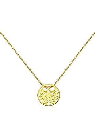 Coccola Halskette  vergoldetes Silber 925