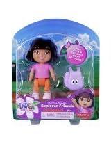 Dora the Explorer Playtime Together Bedtime Buddies - Pink