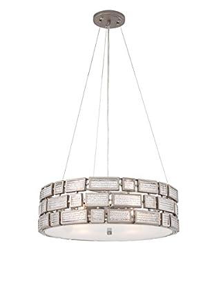 Varaluz Harlowe 3-Light Pendant, New Bronze/Textured Ice