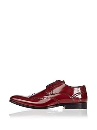 Divarese Zapatos Derby Owain (Rojo Oscuro)