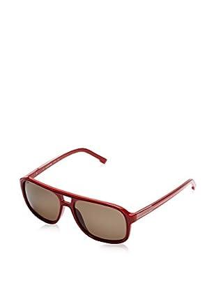 Lacoste Gafas de Sol L742S_615 (57 mm) Rojo