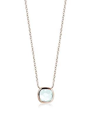 DI GIORGIO PARIS Halskette Dgm74Cap vergoldetes Silber 18 Karat
