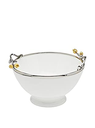 Godinger Golden Blossom Salad Bowl