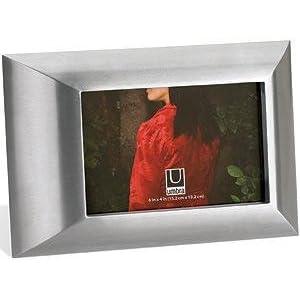 Umbra Classica 4-Inch-by-6-Inch Cast Aluminum Frame