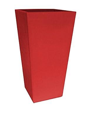 Contemporary Living Macetero Square Rojo