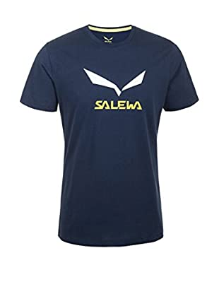 Salewa T-Shirt Solidlogo Co M S/S