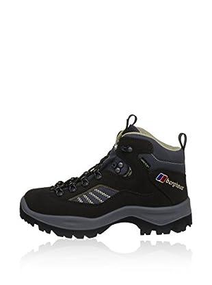 Berghaus Zapatillas Outdoor Explorer Trek Tech Boot Af Dkbrn/Ltbrn (Negro)