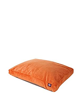 Villa Collection Small Rectangle Pet Bed, Orange